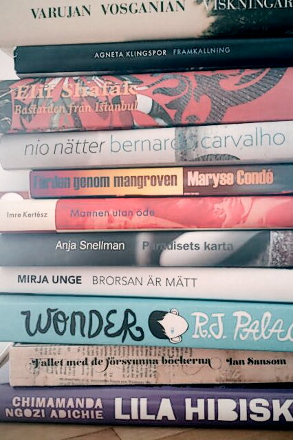 nya böcker